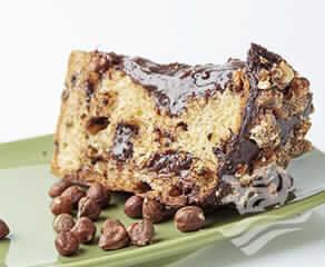 Panetone Trufado De Chocolate Com Avelãs