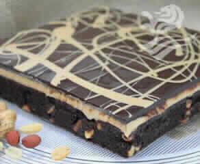 Brownie Com Amendoim